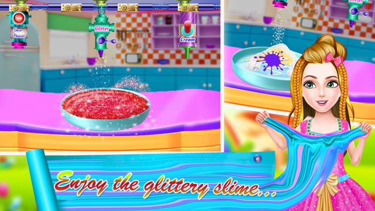 DIY Glitter Slime Maker Jelly screenshot-3
