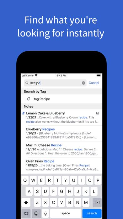 Simplenote – Notes and Todos ScreenShot4