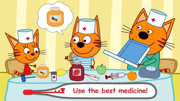 Kid-E-Cats: Pet Doctor Games screenshot-3