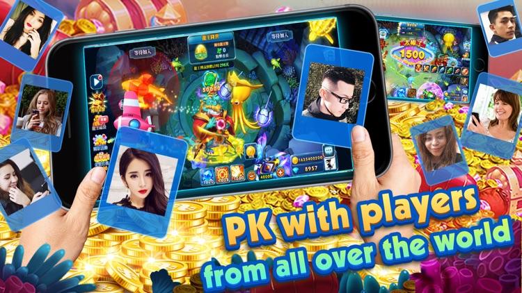 Fishing Casino - Ocean King screenshot-4