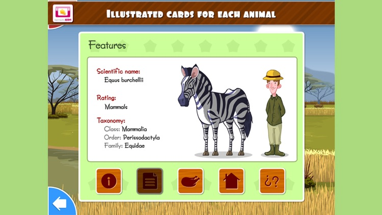 Animals of Africa - Education