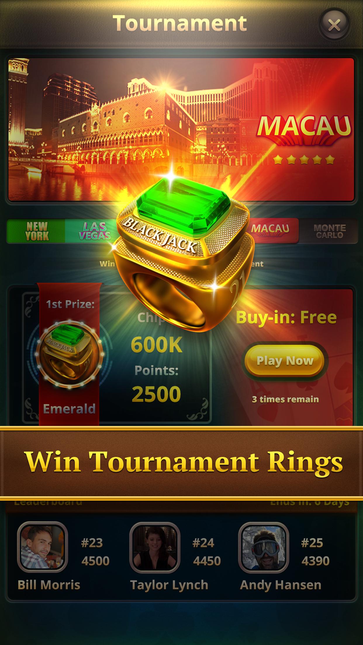 Blackjack⋅ Screenshot