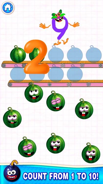 COUNTING NUMBERS Games 4 Kids screenshot-3
