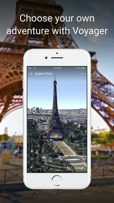 Screenshot for Google Earth in United States App Store