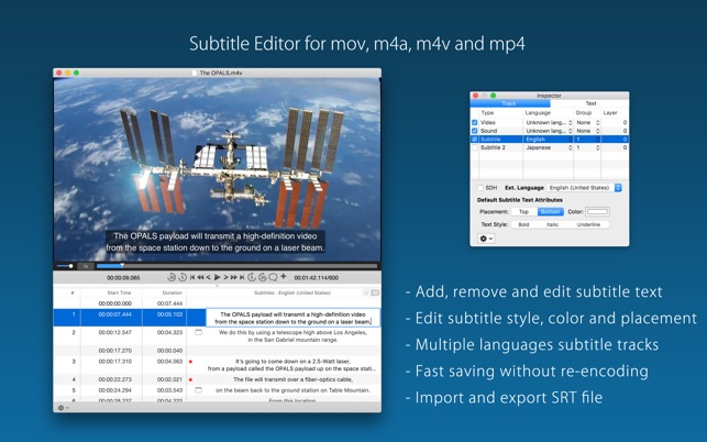Subtitle factory on the mac app store subtitle factory on the mac app store ccuart Gallery