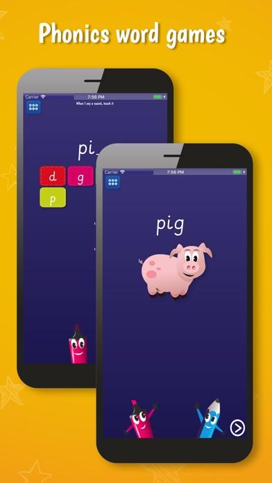 PocketPhonics (stories as IAP) screenshot two