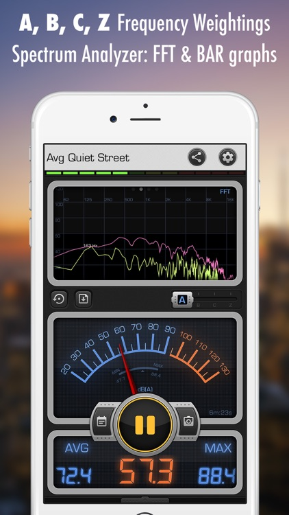 Decibel X: dB, dBA Noise Meter screenshot-1