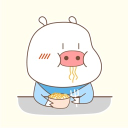 Funny Piglet Animated Stickers