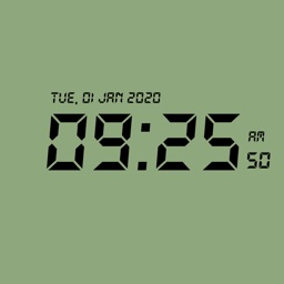 Minimalist Retro Clock