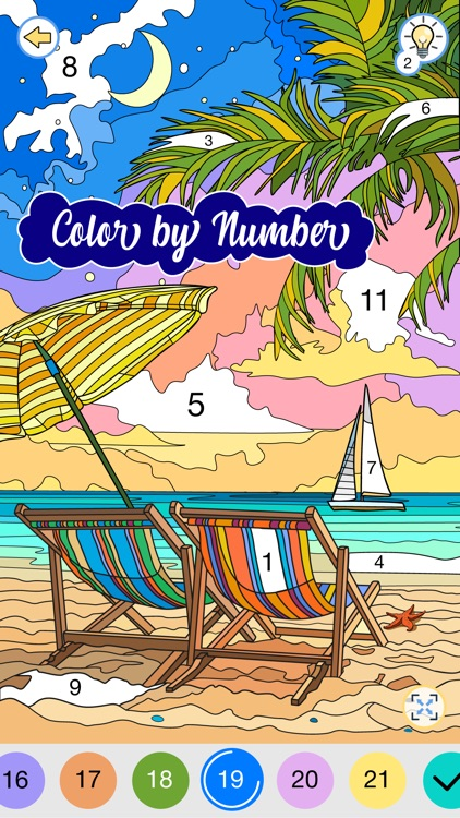 Happy Canvas: Color by Number screenshot-0