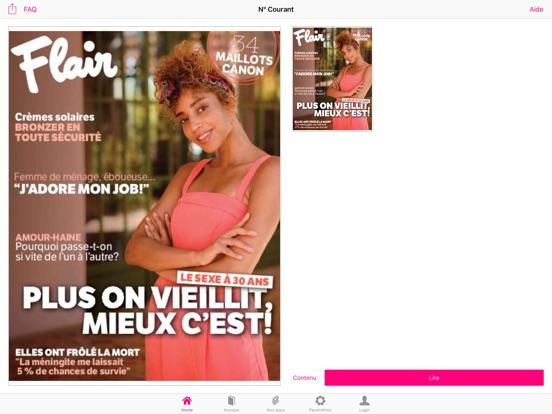 Image of Flair FR Magazine for iPad