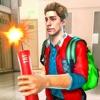 学校での悪いいじめっ子アイコン