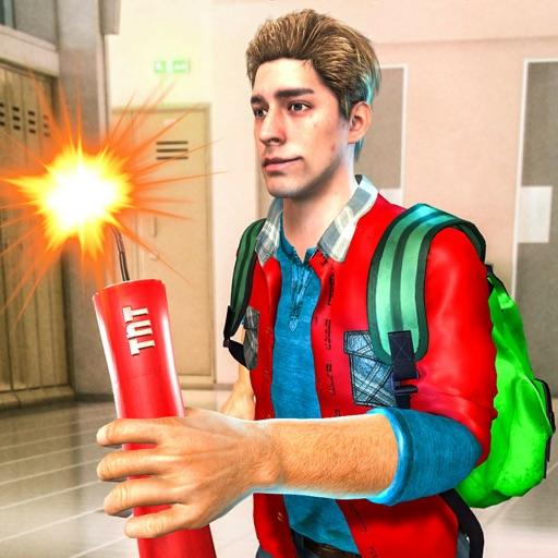 Bad Bully Guys At School icon