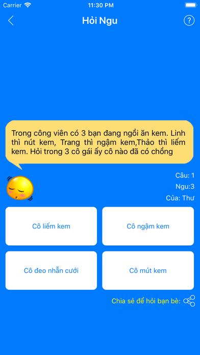 Hỏi Ngu 3 - Câu Hỏi Mới Nhất screenshot one