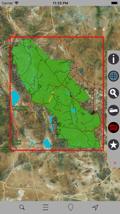 Death Valley National Park GPS screenshot-4