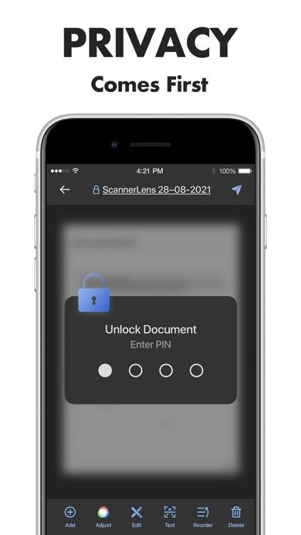 Scanner Lens: scan to pdf screenshot-8