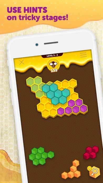 Hexa Buzzle screenshot 2