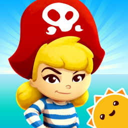 Ícone do app StoryToys Pirate Princess