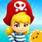 App Icon for StoryToys Pirate Princess App in Belgium IOS App Store