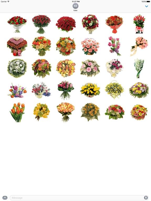 Animated Fresh Flower Bouquets screenshot 3