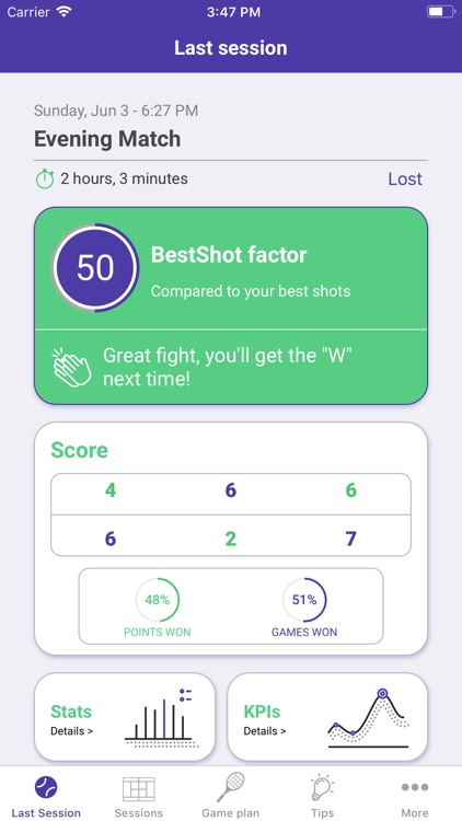 BestShot Smart Tennis
