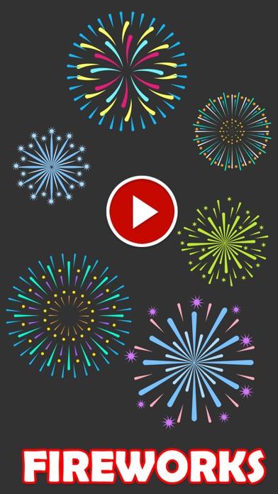 Animated Fireworks Sticker screenshot 1
