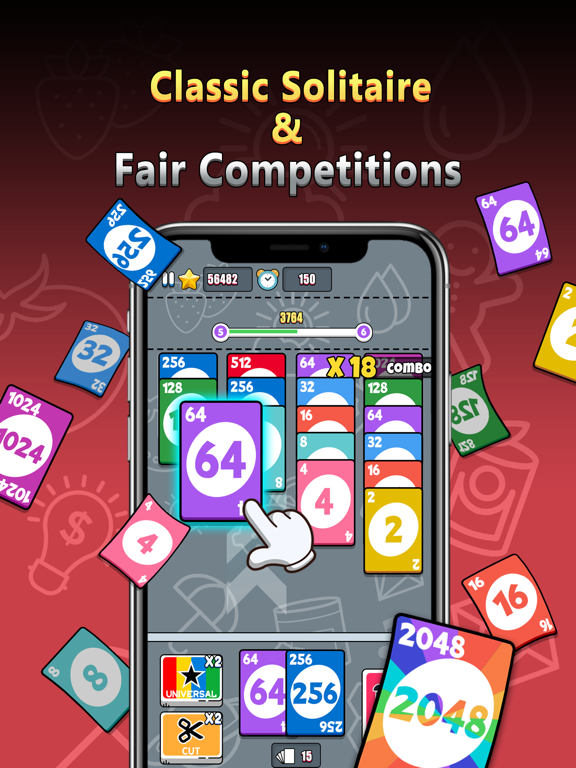 Stack Card 2048: Cash Prizes screenshot 6