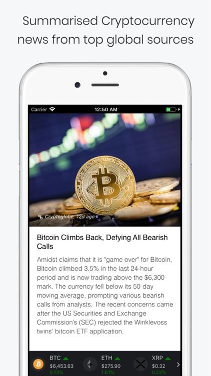 CryptoShorts - Crypto News App