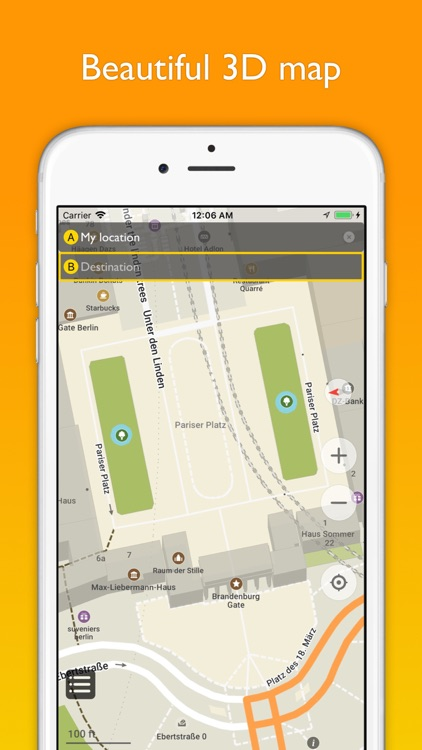 Berlin offline map & nav screenshot-1