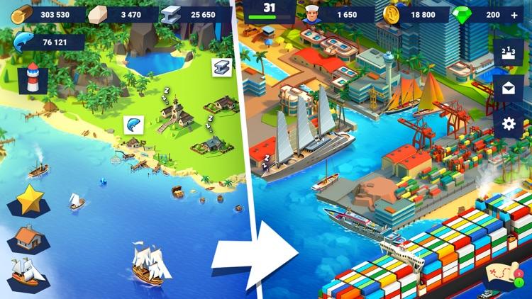 Sea Port: Cargo Ship Harbor screenshot-0