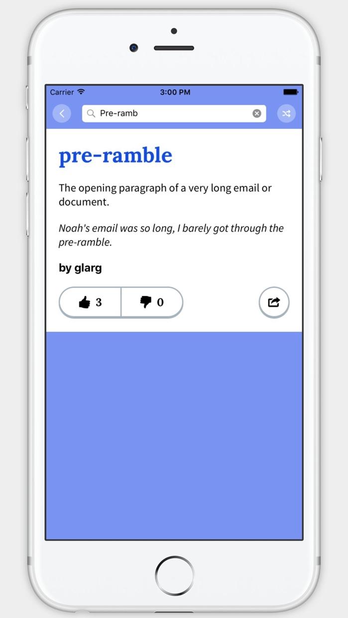 Urban Dictionary Screenshot
