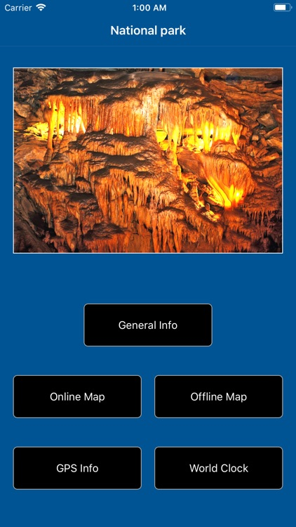 Mammoth Cave National Park Map screenshot-1