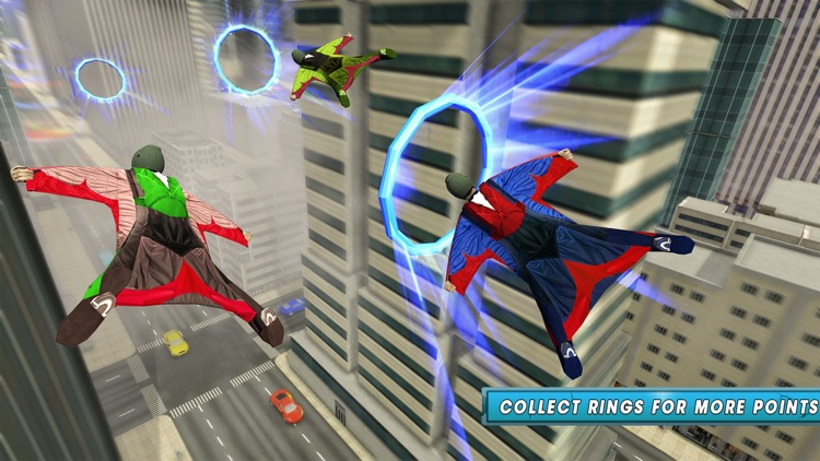 Skyman Stunt Hero 3d screenshot-4
