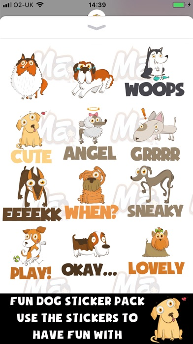 My Dog Stickers Screenshot 2
