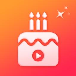 Birthday Video Maker - status