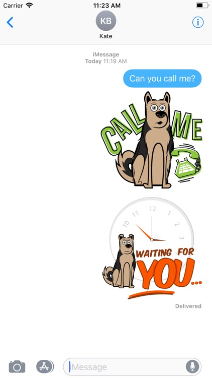 Dog Emoji - Stickers