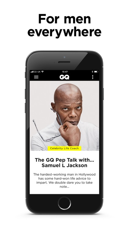 GQ Magazine (UK) screenshot-4
