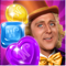App Icon for Wonka's World of Candy Match 3 App in United States IOS App Store