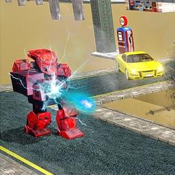 Real Robot Street Shooter
