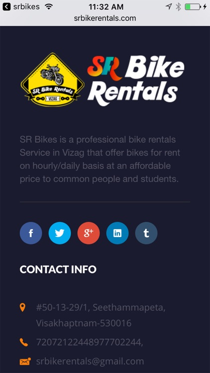 SR Bike rentals screenshot-3