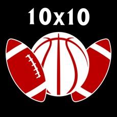 10x10 Sports Squares