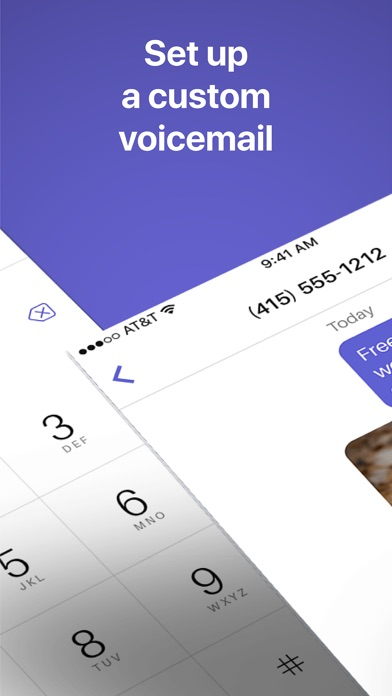 Text Free Calling App review screenshots