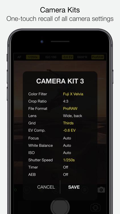 Vistax - Pro Camera screenshot-6