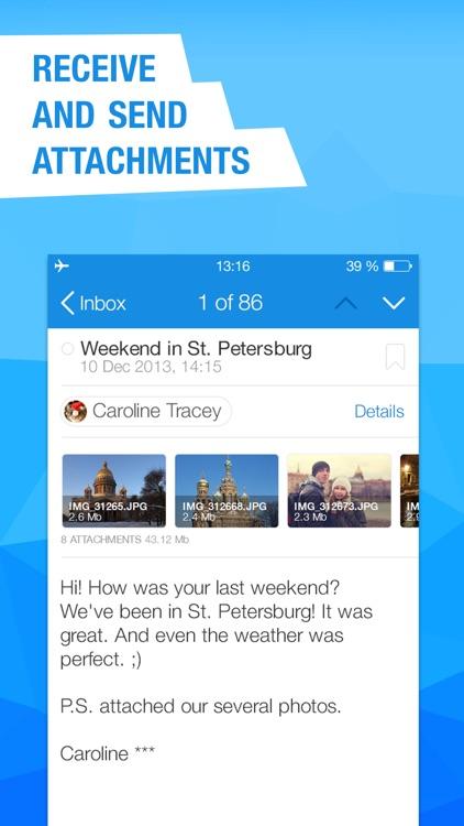 Mail.Ru – Email App screenshot-3