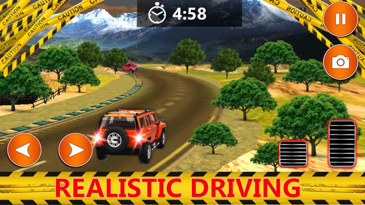 Offroad Jeep Racing