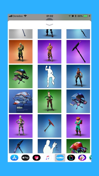 FortMOJI - Fortnite Stickers screenshot-3