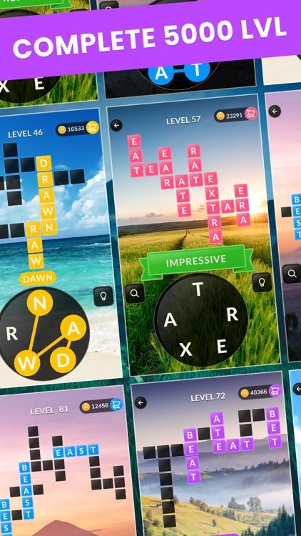 Wordsgram - Word Search Game screenshot-4