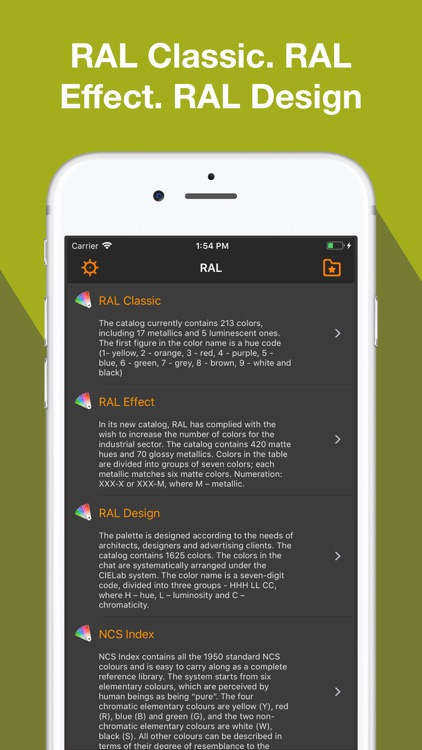 RAL - color palette screenshot-3