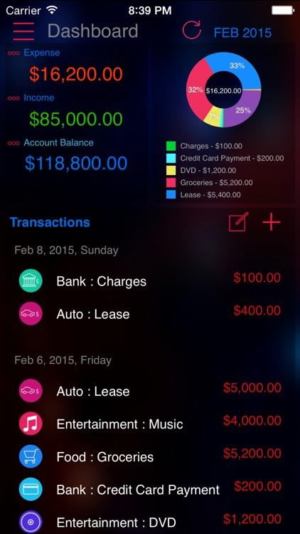 Expense Nova 2.0 : Home Budget