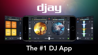 djay 2 for iPhone screenshot1